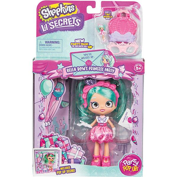 Купить Кукла Lil' Secrets Shoppies Белла Боу, с аксессуарами, Moose, Китай, разноцветный, Женский