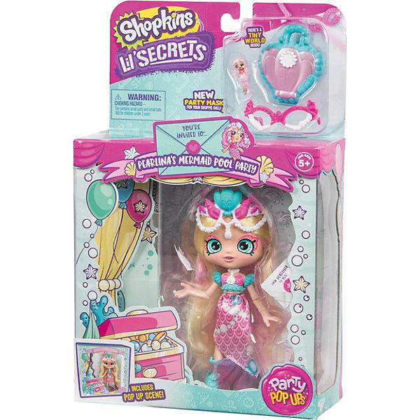 Купить Кукла Lil' Secrets Shoppies Жемчужная Русалка, с аксессуарами, Moose, Китай, разноцветный, Женский