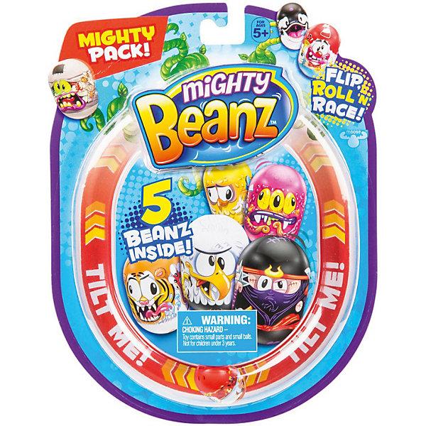 Набор Mighty Beanz, 5 бобовИгровые наборы с фигурками<br>Характеристики:<br><br>• материал: пластик<br>• в комплекте: 5 игрушек, капсула, инструкция коллекционера<br>• страна бренда: Австралия<br><br>Забавные игрушки-неваляшки не оставят никого равнодушным. Они никогда не упадут, так как содержат шарик для сохранения равновесия. Собрав всю коллекцию, можно играть с героями, сталкивая их друг с другом. Азарт коллекционирования добавляют весьма редкие персонажи. Сделаны из качественных безопасных материалов.