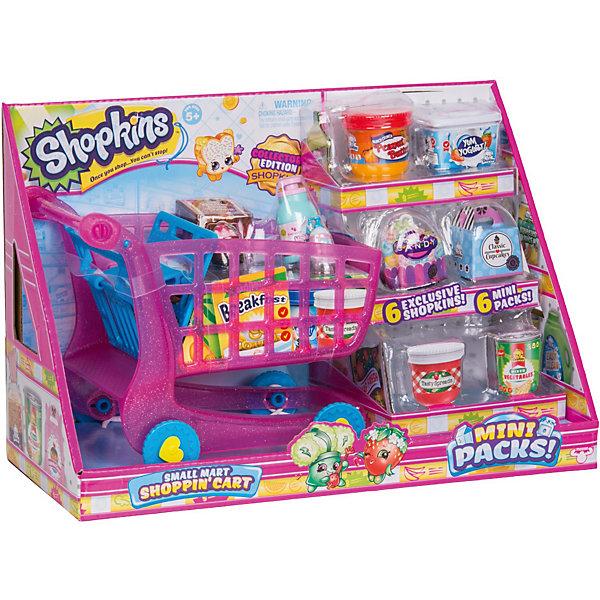 Купить Игровой набор Shopkins Тележка для покупок , Moose, Китай, разноцветный, Унисекс