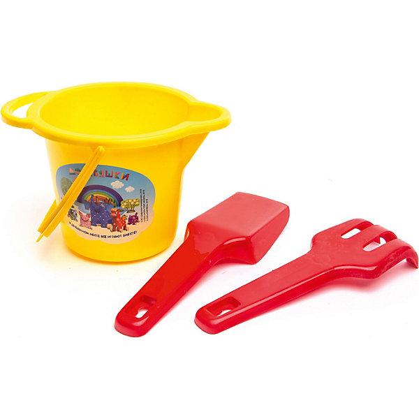 Деревяшки Набор для песочницы Деревяшки, 3 предмета karolina toys набор для песочницы замок 3 предмета