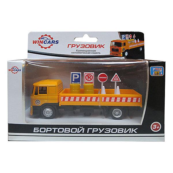 Wincars Бортовой грузовик с дорожными знаками