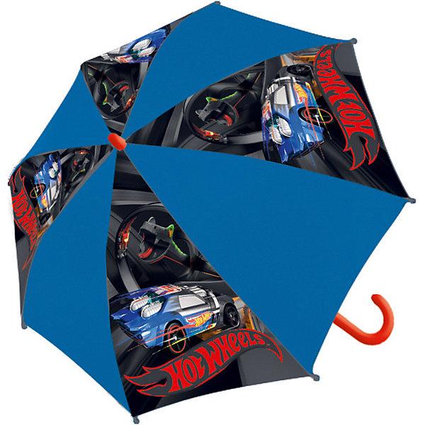 Купить Детский зонт-трость Академия Групп Hot Wheels, Академия групп, Китай, Мужской