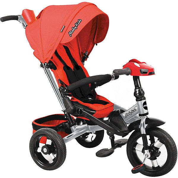 Купить Трехколесный велосипед Moby Kids New Leader 360° 12x10 AIR Car, Китай, красный, Унисекс