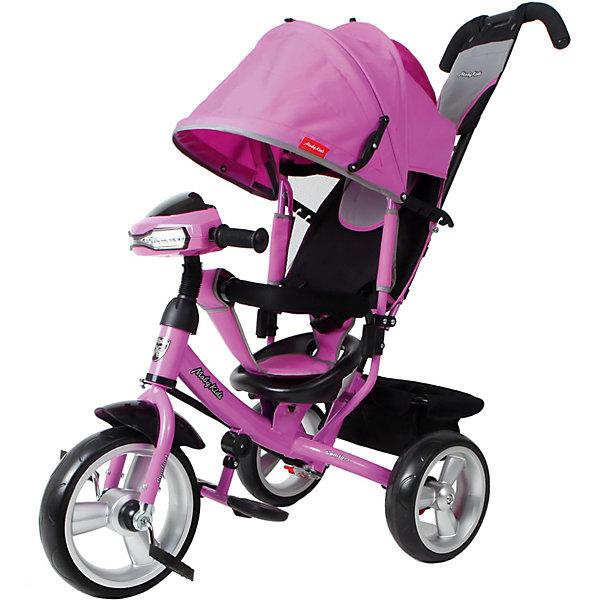 Трехколесный велосипед Moby Kids Comfort EVA Car 12/10