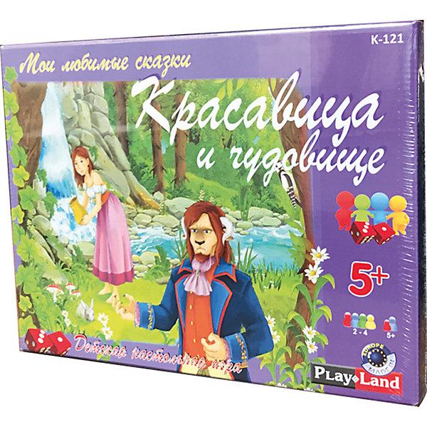 Купить Настольная игра Play Land Красавица и чудовище, Болгария, Унисекс