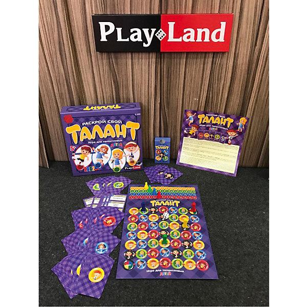 Купить Настольная игра Play Land Раскрой свой Талант: для детей, Болгария, Унисекс