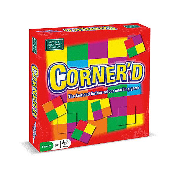 Настольная игра ИнтерХит CornerdДля всей семьи<br>Характеристики:<br><br>• материал: картон<br>• язык: английский<br>• для детей и взрослых<br>• количество игроков: 2-6 человек<br>• время игры: 10-20 минут<br><br>Цель игры: быстрее всех избавиться от карточек и правильно разложить их на игровом поле. При этом карточек должно быть одинаковое количество у каждого играющего.<br><br>Внимание не помешает. Карточки с хитрыми уголками подобрать не так-то просто. Если из 4 квадратиков на карточке не совпадает хотя бы 1, нужно быстрее всех отыскать другую комбинацию подстановки карточки!