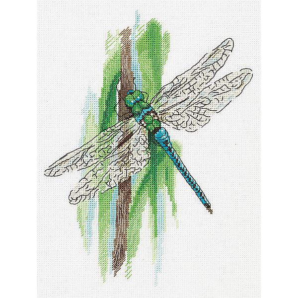 Купить Набор для вышивания Panna Мгновения лета: Стрекоза , Россия, разноцветный, Женский