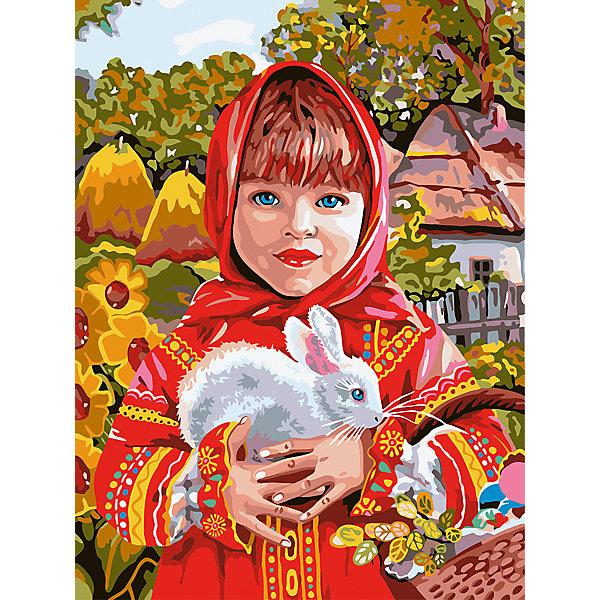 Фрея Картина по номерам Русская красавица, 30 х 40 см