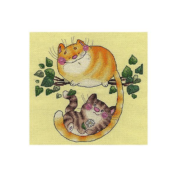 Klart Набор для вышивания Котята на дереве