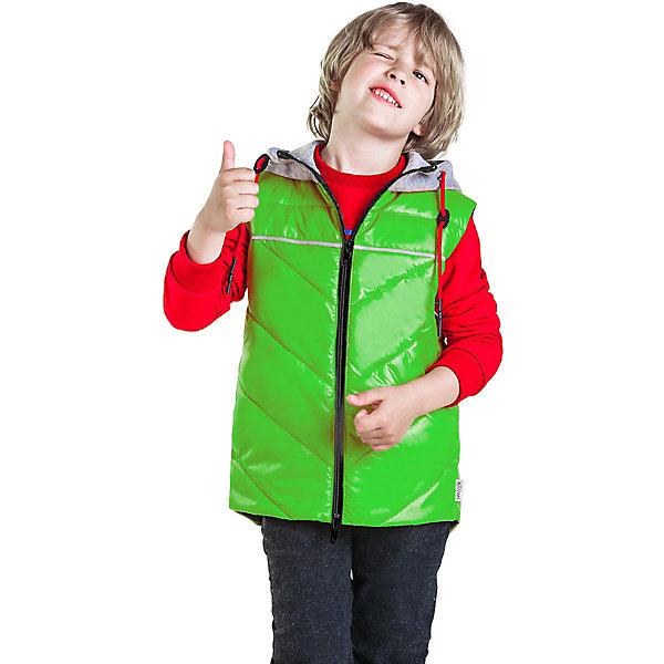 Купить Жилет BOOM by Orby для мальчика, Россия, светло-зеленый, 128, 164, 152, 146, 116, 140, 170, 134, 158, 122, Мужской