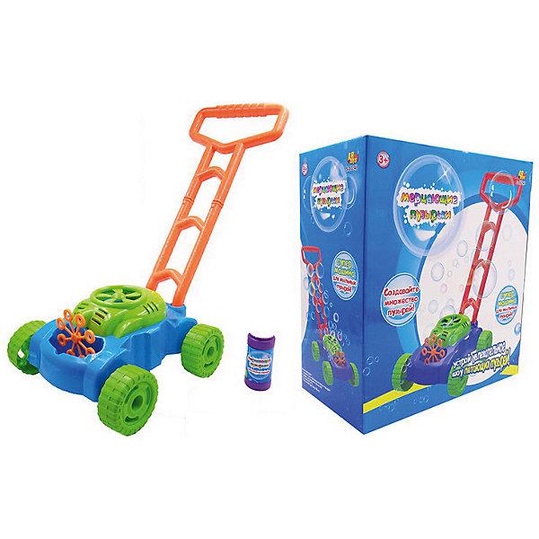 ABtoys Мыльные пузыри ABtoys Мерцающие пузырьки, с машиной для пузырей игрушка бластер для мыльных пузырей дельфин 11 01249 066