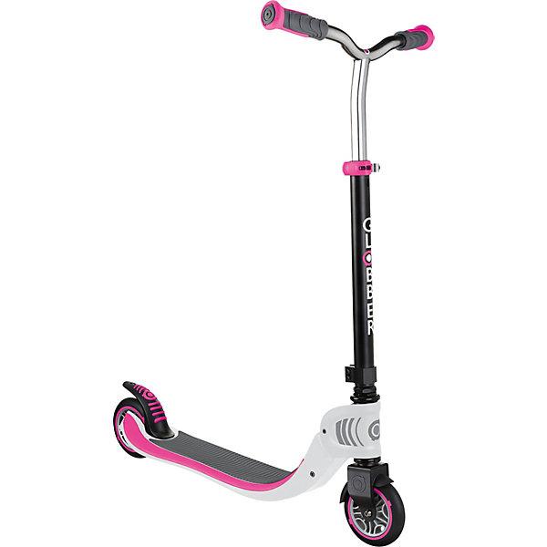 Купить Двухколесный самокат Globber Foldable Flow 125, бело-розовый, Китай, розовый/белый, Женский