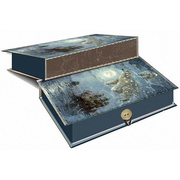 Феникс-Презент Коробка подарочная Феникс-презент Большая медведица, размер M коробка подарочная magic time зимние забавы размер m 75031