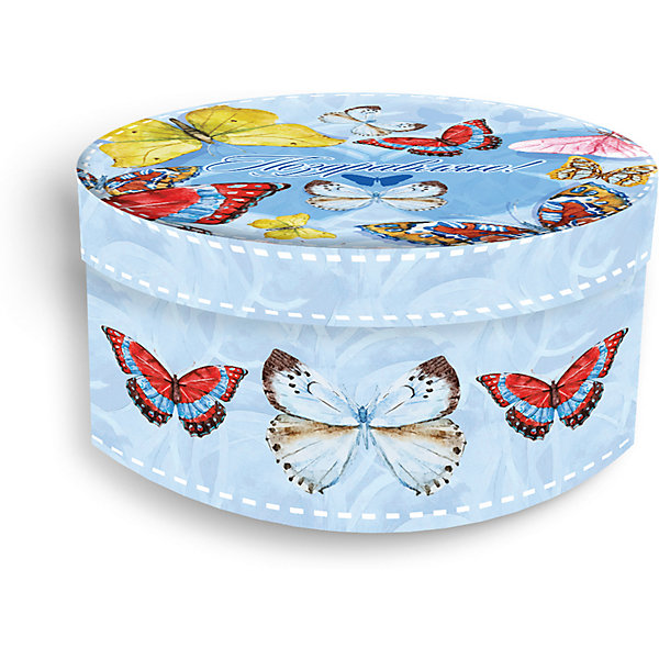 Купить Подарочная коробка Феникс-презент Тропические бабочки, Феникс-Презент, Китай, Унисекс
