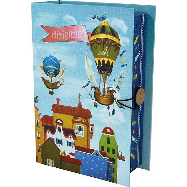 Купить Коробка подарочная Феникс-презент Дирижабли в лето, размер S, Феникс-Презент, Китай, Унисекс