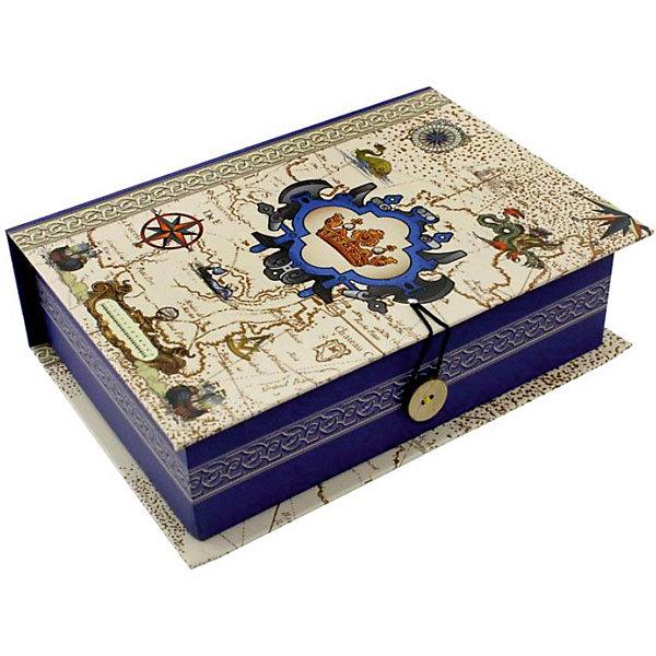 Купить Коробка подарочная Феникс-презент Путь в новый свет, размер S, Феникс-Презент, Китай, Унисекс