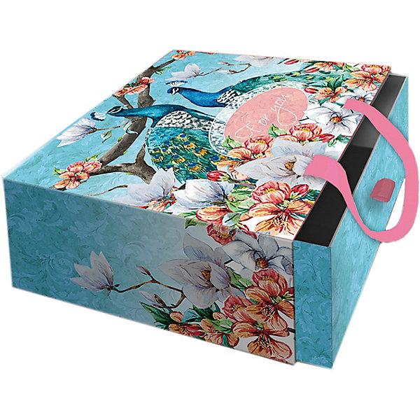 Феникс-Презент Подарочная коробка Феникс-презент Павлины