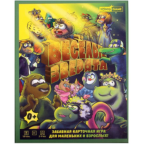 Настольная игра KonigGame Веселые зверята