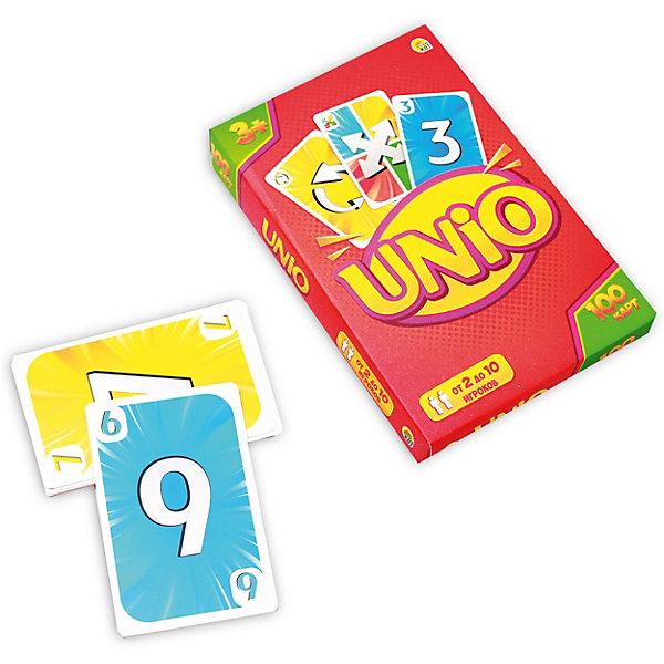 Рыжий кот Карточная игра Унио