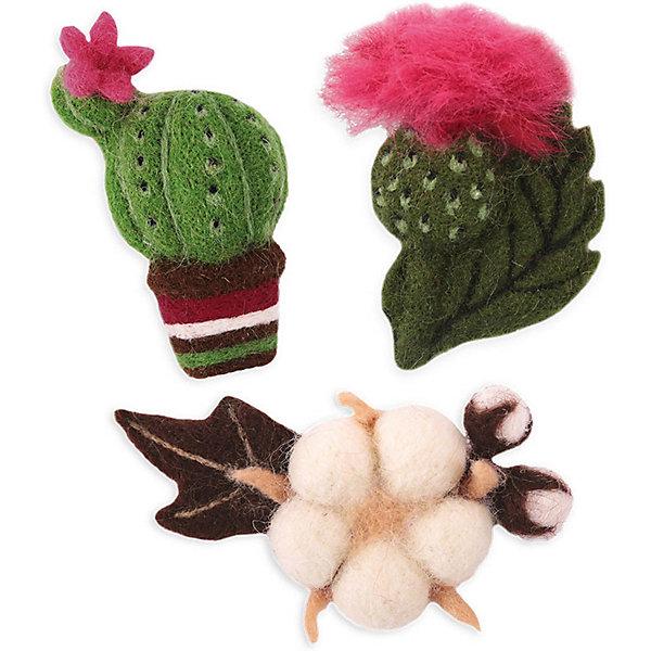 Woolla Набор для валяния Цветущие растения