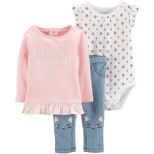 Купить Комплект для новорожденного Carter's, carter`s, Индонезия, pink/blau, 67-72, 80/86, 80/84, 72-78, Женский
