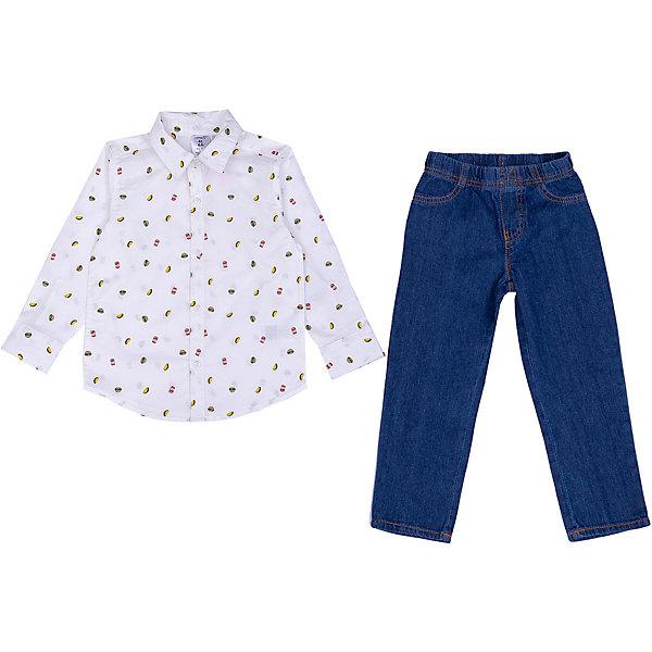 carter`s Комплект Carters: рубашка и джинсы