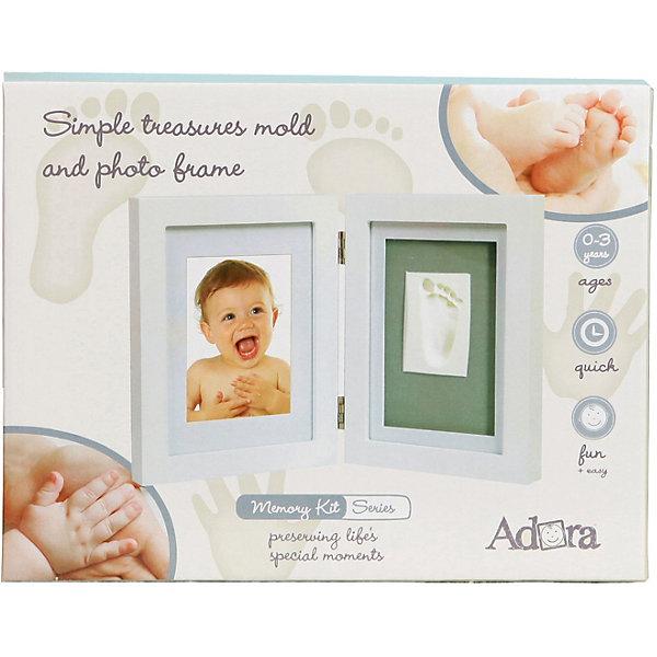 Купить Двойная рамка Adora для отпечатка и фотографии, Словения, белый, Унисекс