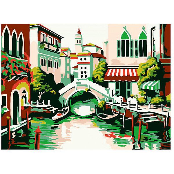 Molly Картина-открытка по номерам Старинный мостик