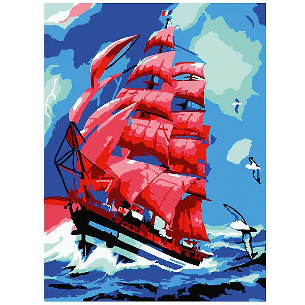 Molly Картина-открытка по номерам Molly Алые паруса махаон алые паруса а грин machaon