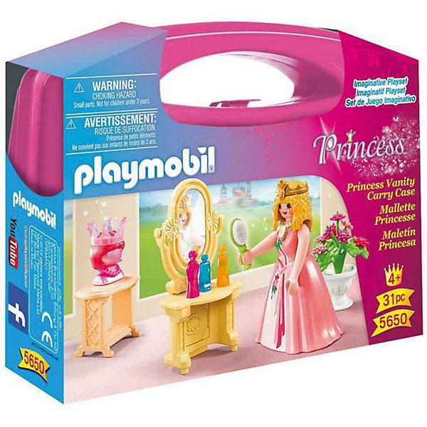 Купить Игровой набор Playmobil Туалетный столик Принцессы , PLAYMOBIL®, Германия, разноцветный, Женский