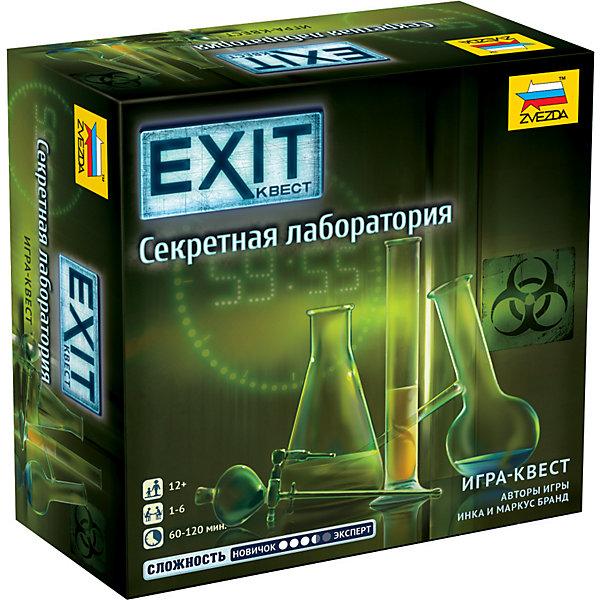 Настольная игра Zvezda «Exit Квест. Секретная лаборатория» Звезда