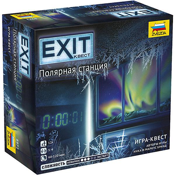 Настольная игра Zvezda «Exit Квест. Полярная станция» Звезда