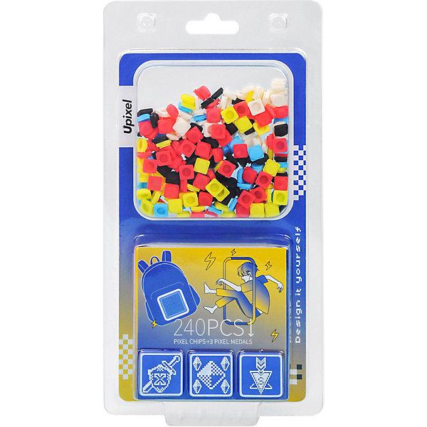 Купить Комплект пикселей Upixel 9 картинок на рюкзак, T-U01, 240 шт, Китай, разноцветный, Унисекс