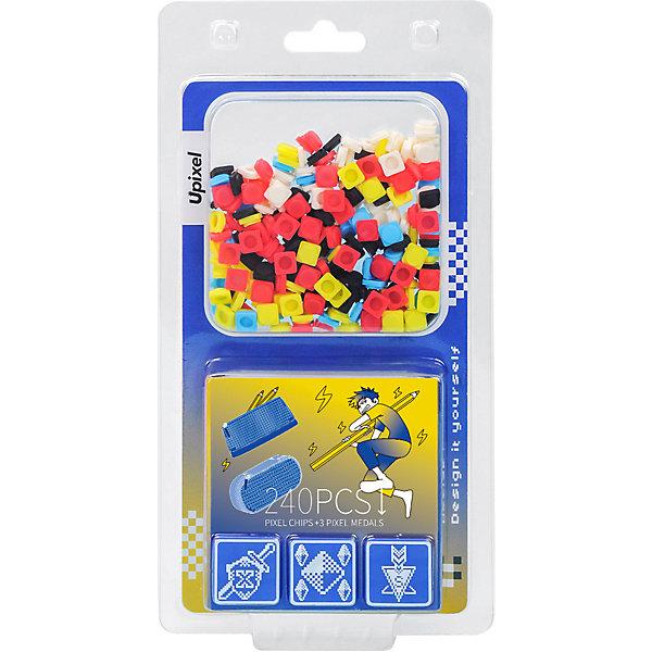 Купить Комплект пикселей Upixel 9 картинок на пенал, T-U03, 240 шт, Китай, разноцветный, Унисекс