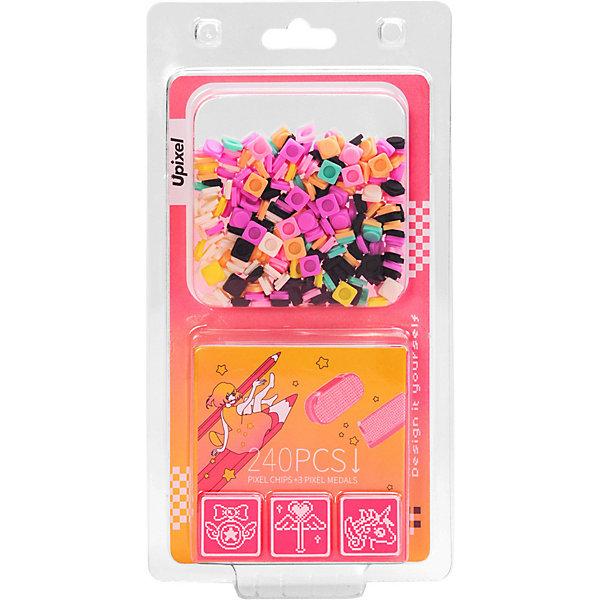 Купить Комплект пикселей Upixel 9 картинок на пенал, T-U04, 240 шт, Китай, разноцветный, Унисекс