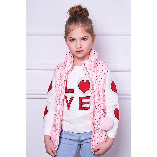 Купить Жилет утепленный Choupette для девочки, Россия, розовый, 116, 86, 98, 110, 92, 104, Женский