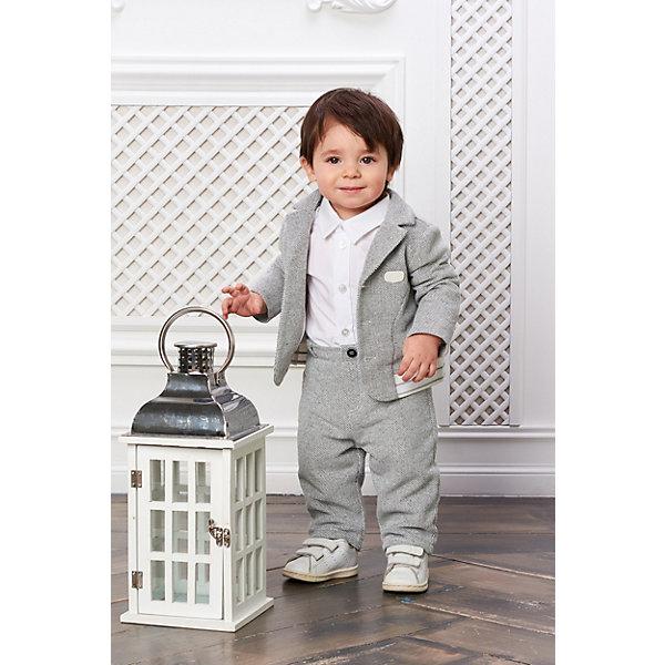 Купить Пиджак Choupette для мальчика, Россия, серый, 68, 74, 80, 62, Мужской