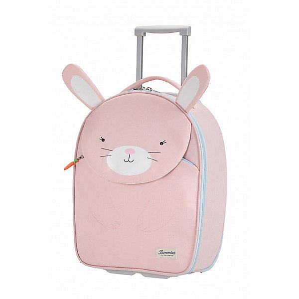 сумка samsonite сумка чемодан 55 см ziproll 40x55x20 см Samsonite Чемодан Samsonite Happy Sammies Крольчонок Роузи, высота 46 см