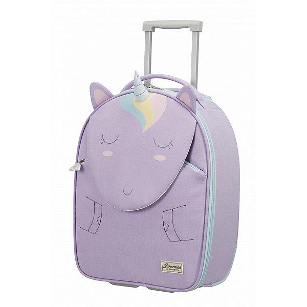 сумка samsonite сумка чемодан 55 см ziproll 40x55x20 см Samsonite Чемодан Samsonite Happy Sammies Единорожка Лили, высота 46 см