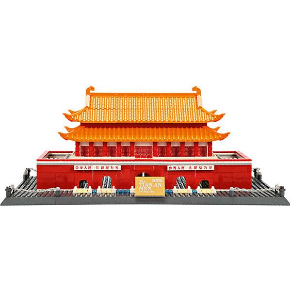 Wange Конструктор Шедевры мировой архитектуры. Врата Небесного Спокойствия, 758 деталей