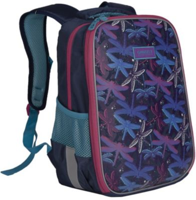 Grizzly Рюкзак школьный Grizzly, темно-синий grizzly рюкзак школьный grizzly темно синий
