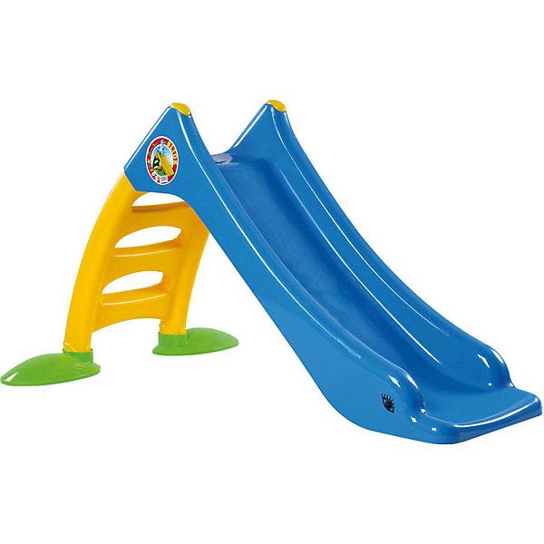 Горка Dohany, средняя, голубая/желтая