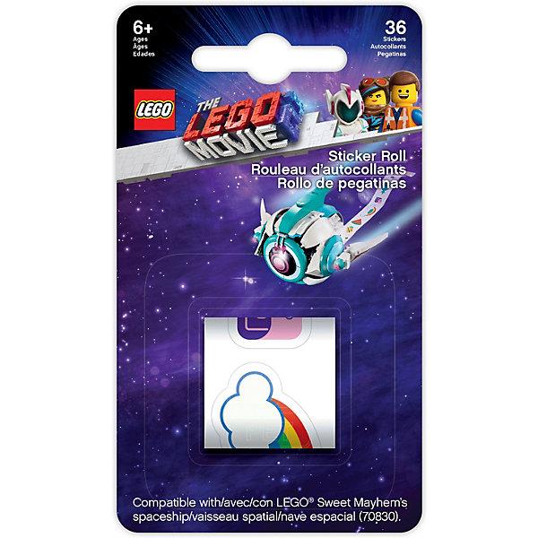 Купить Стикеры LEGO Movie 2 70830: Космический корабль Мими Катавасии, 36 шт, Китай, разноцветный, Унисекс