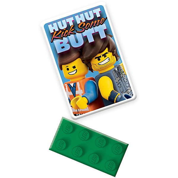 Набор ластиков LEGO Movie 2: Galactic Duo, 2 шт, Разноцветный