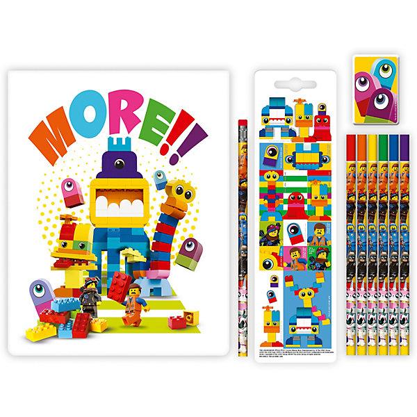 Канцелярский набор LEGO Movie 2: DUPLO, 10 предметов 11052678