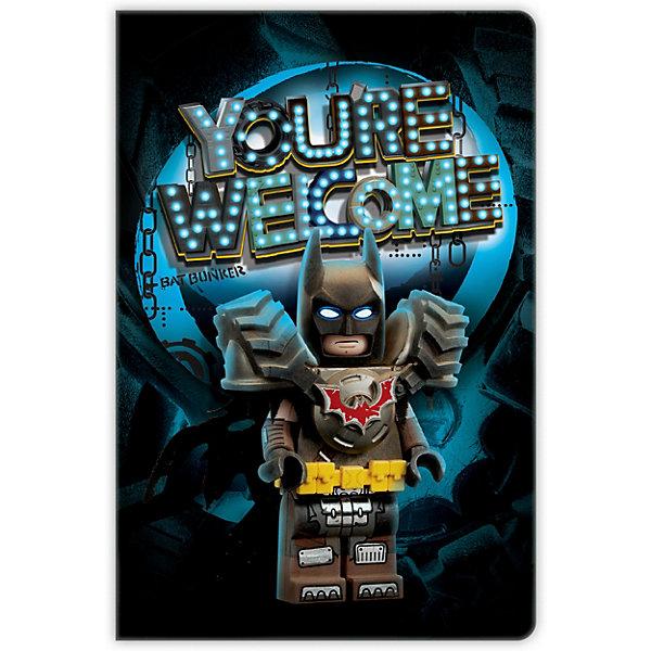 Купить Книга для записей LEGO Movie 2: Batman, 96 листов, Китай, разноцветный, Мужской