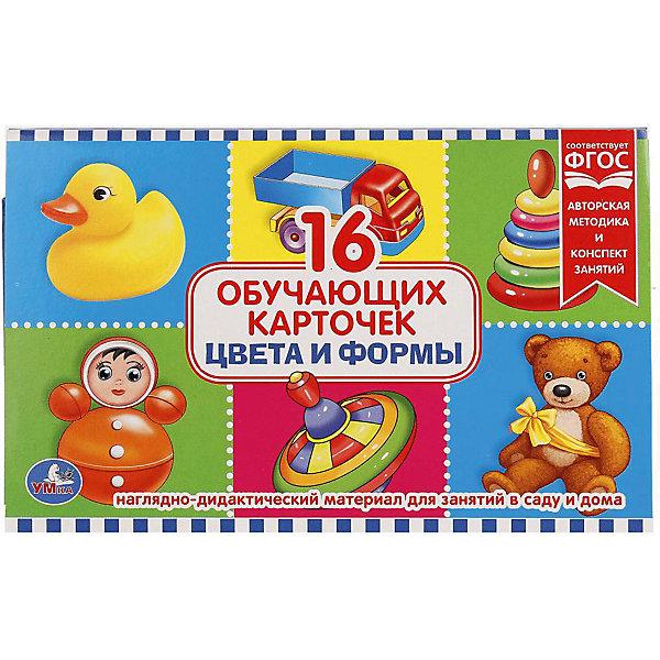 Купить Обучающие карточки Умка «Цвета и формы», Россия, Унисекс
