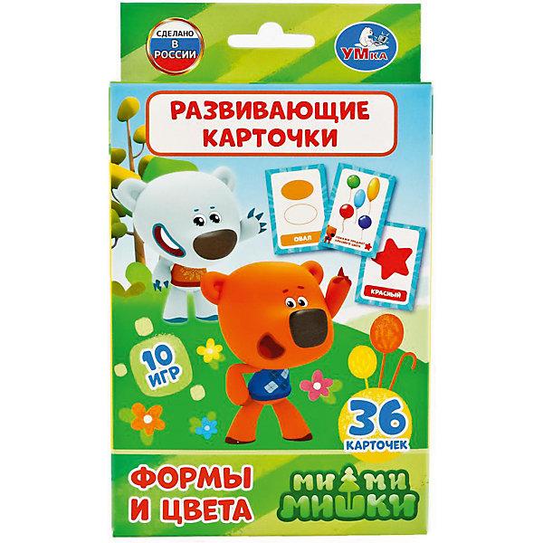 Купить Карточки развивающие Умка «Мимишки. Формы и цвета», Россия, Унисекс